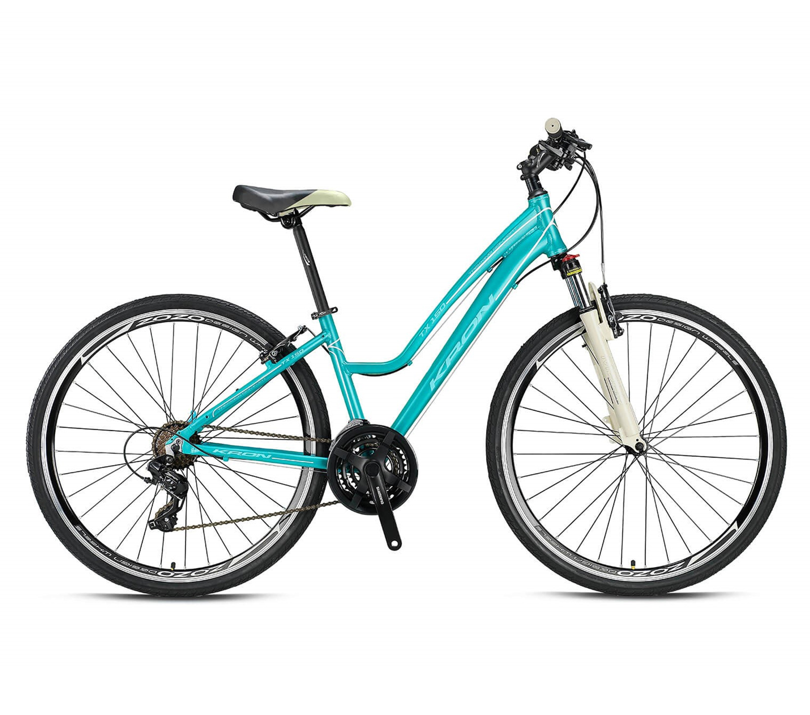 KRON TX 150 - 28' CITY BIKE - LADY - 17' - 24 Vites - V-Fren