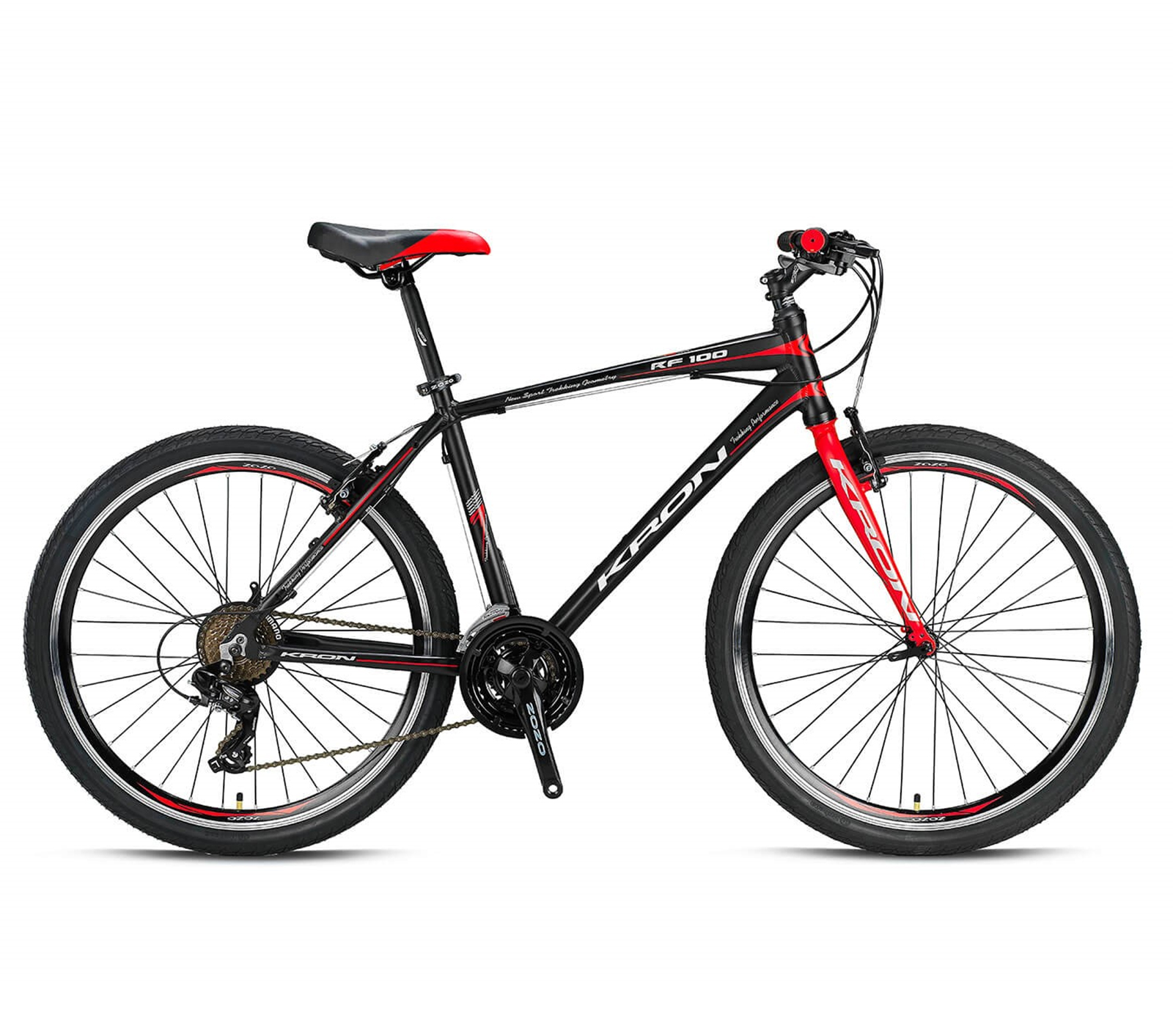 RF 100 - 26' CITY BIKE - 18' - 21 Vites - V-Fren